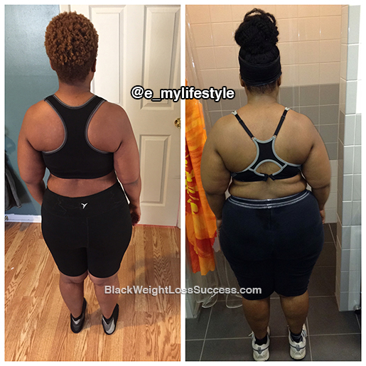 erica weight loss transformation