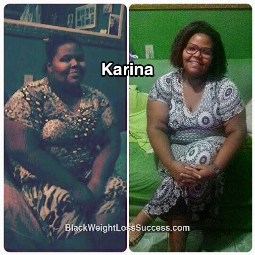 karina before and after