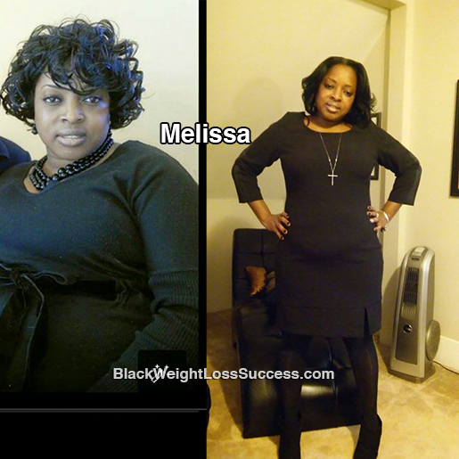 melissa weight loss story