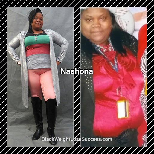 nashona before and after