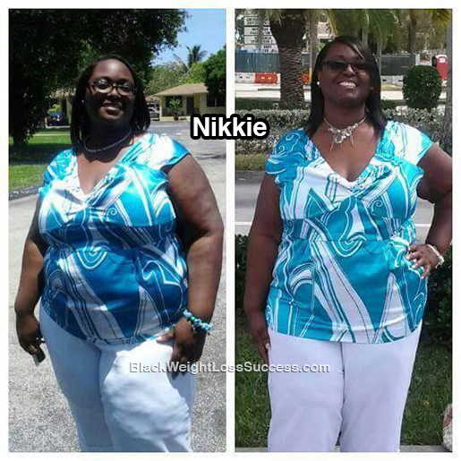 nikkie weight loss story