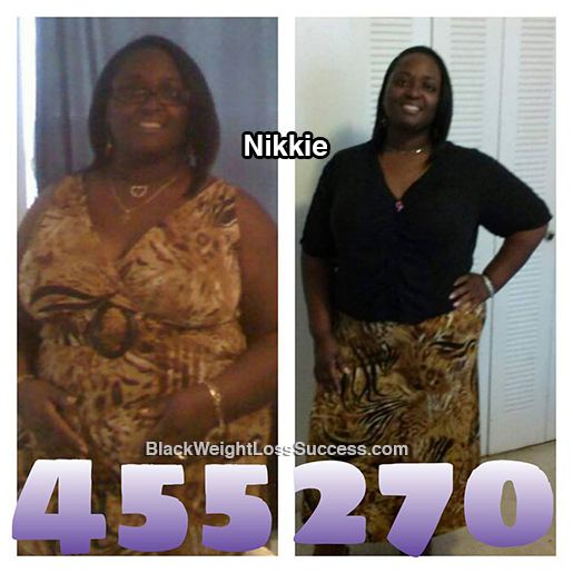 nikkie before and after