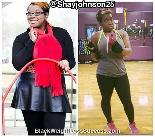 shay before and after