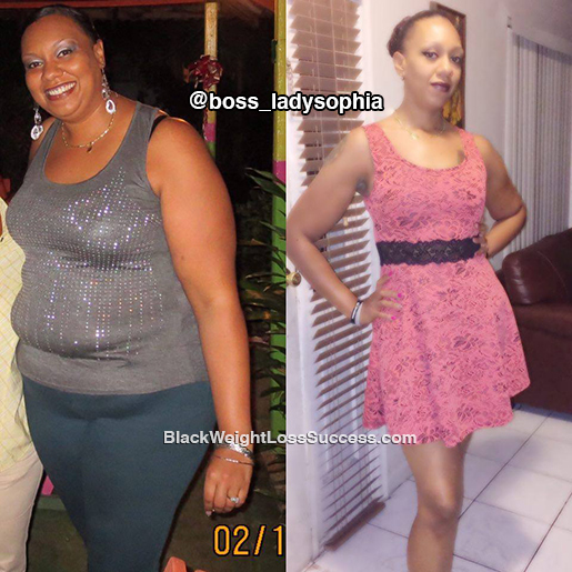 sophia weight loss journey