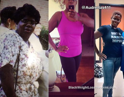 audretta weight loss story