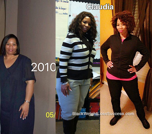 claudia weight loss story