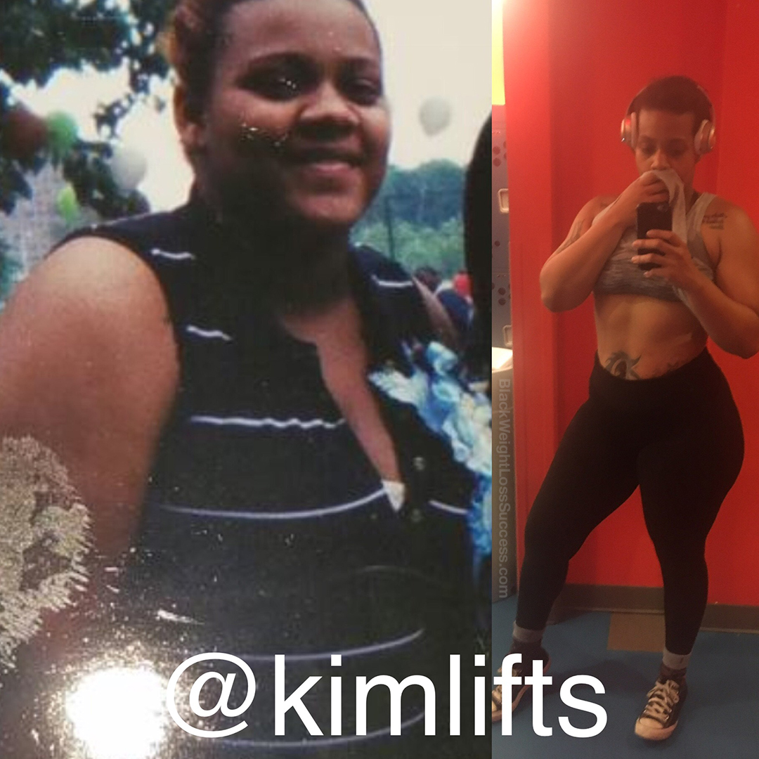 Kimberly before and after