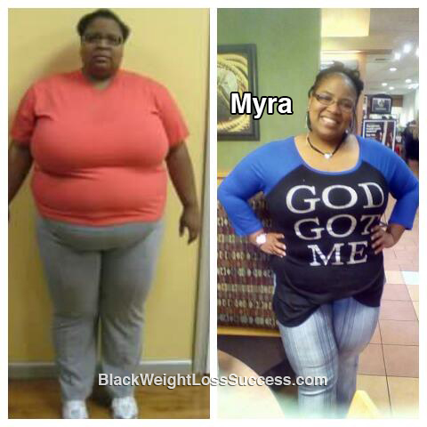 myra weight loss story