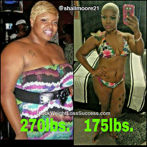 shallethia weight loss story