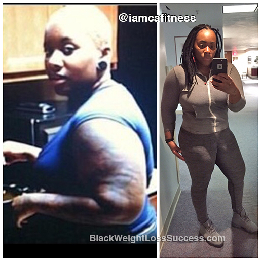shateca weight loss story