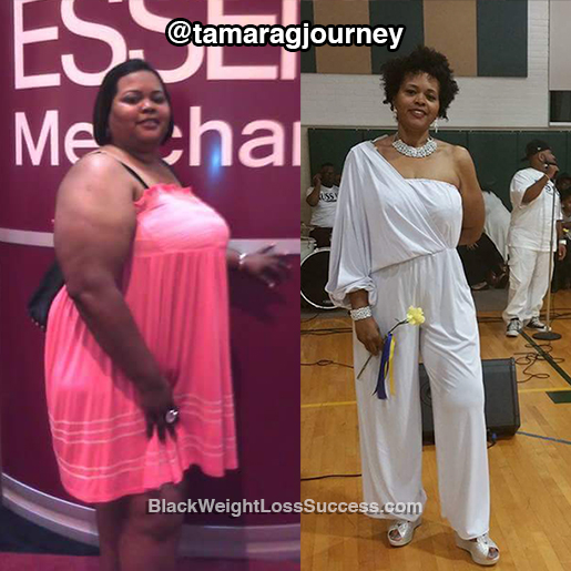 tamara weight loss story