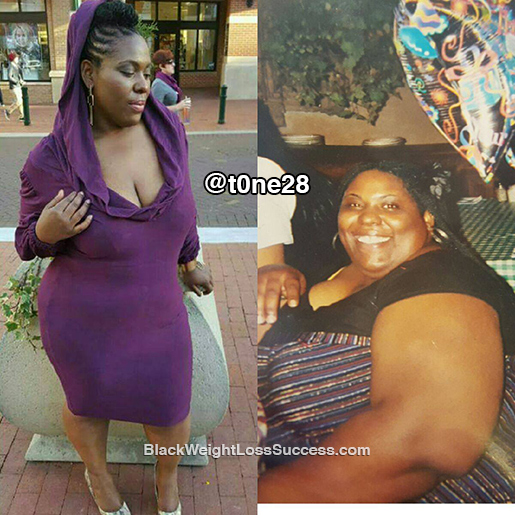 tone weight loss story