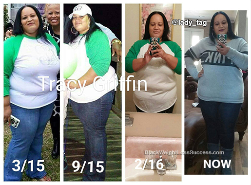 tracy weight loss story