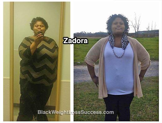 zadora weight loss story