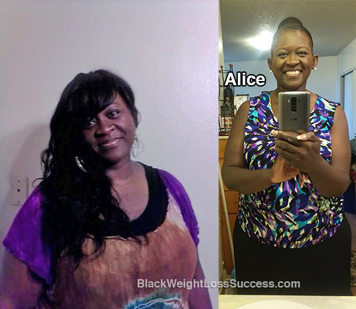 alice weight loss story