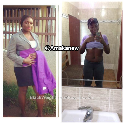 amaka before and after
