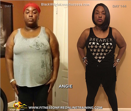 angie before and after