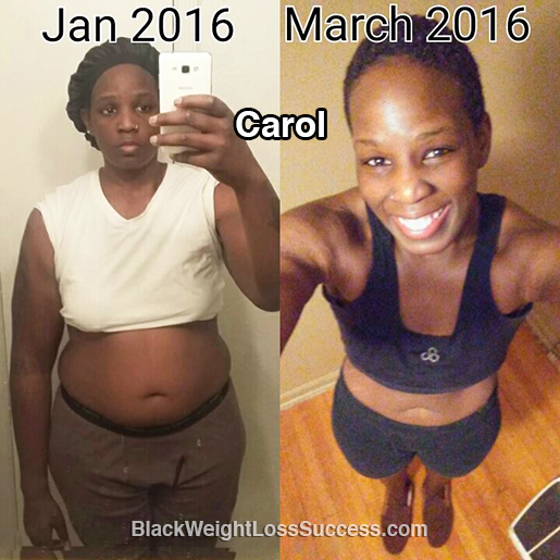 carol before and after