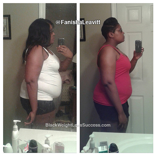 fanisha weight loss story