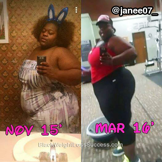 janee weight loss story