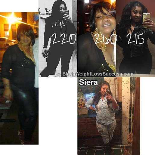 siera before and after