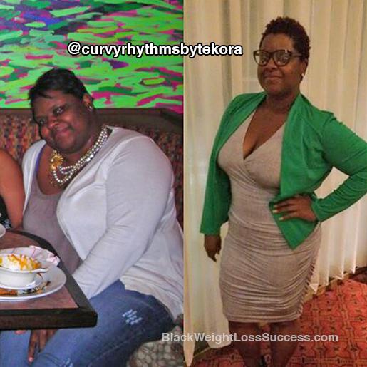 tekora weight loss story