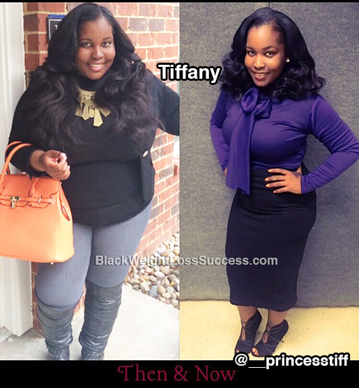 tiffany before and after
