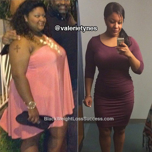 valerie weight loss story