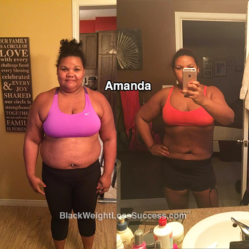 amanda before and after