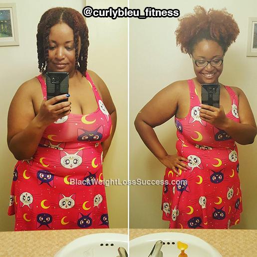 xavia weight loss story