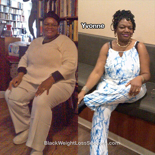 yvonne before and after