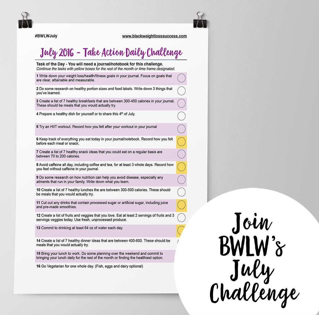 July 2016 challenge