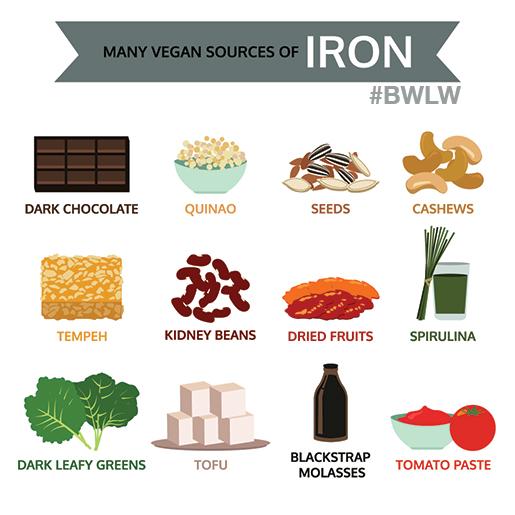 iron sources vegetarian