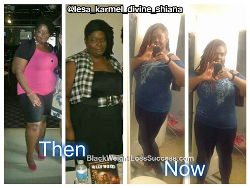 lesa before and after