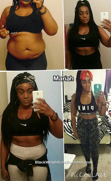 mariah weight loss story