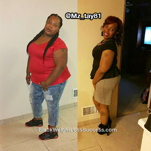 shaunte before and after