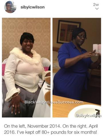 sibyl weight loss