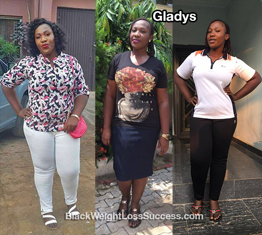 gladys before and after