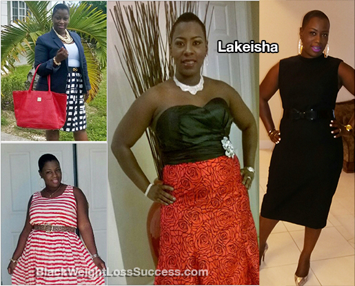 lakeisha before and after