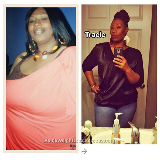 tracie weight loss