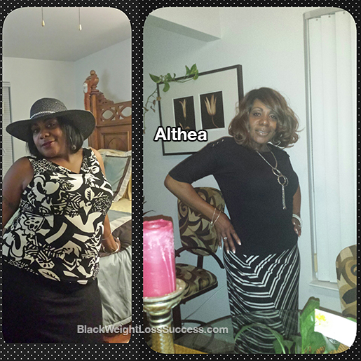 althea before and after