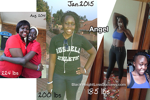 angel before and after