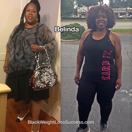 belinda before and after