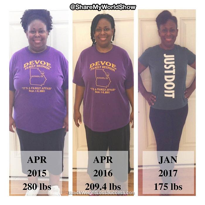 Lakisha weight loss