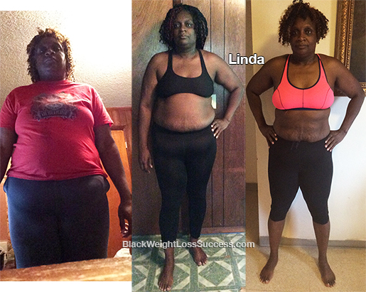 linda before and after
