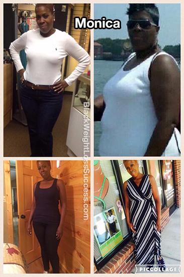 monica weight loss