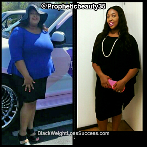 shaquana weight loss
