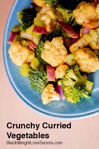 curried vegetable salad