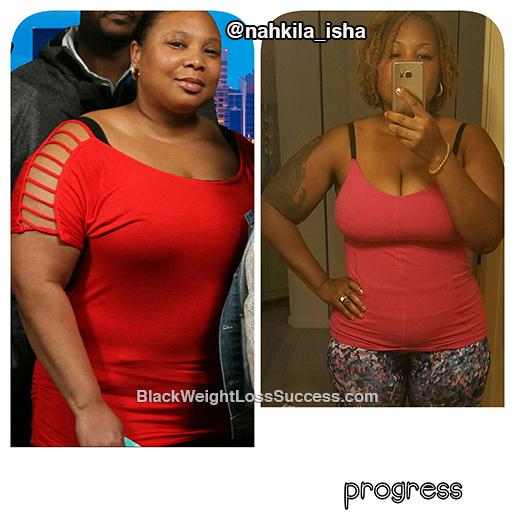 nahkila weight loss