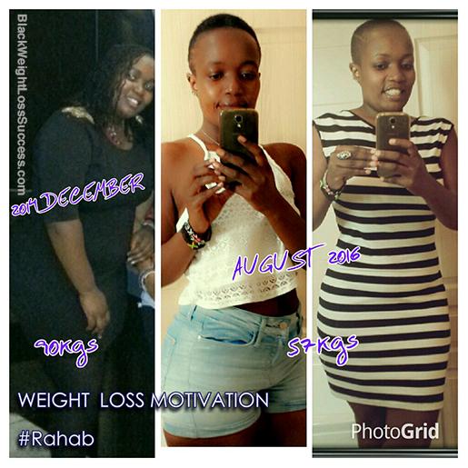 rahab weight loss